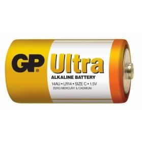 Batéria GP Ultra alkalická C / 2 ks
