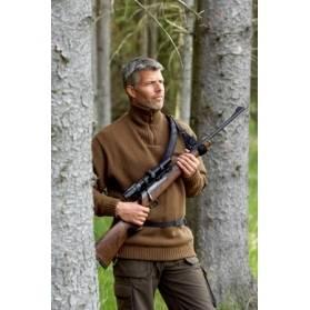 Remeň na pušku na hnanú poľovačku