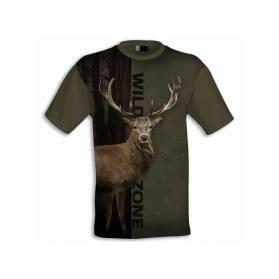 Tričko Wildzone Jeleň