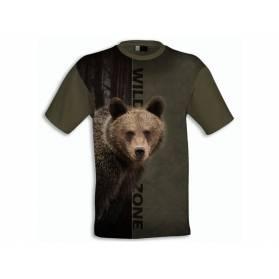 Tričko Wildzone Medveď