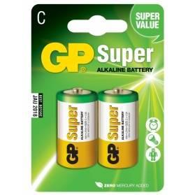 Batéria GP Super alkalická C / 2 ks