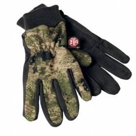 Härkila Q Fleece Opifade Camou rukavice