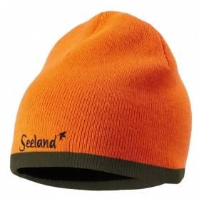 Seeland Ian obojstranná poľovnícka čiapka zelená / reflexná oranžová