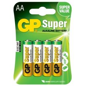 Batéria GP Super alkalická AA / 4 ks
