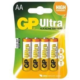 Batéria GP Ultra alkalická AA / 4 ks