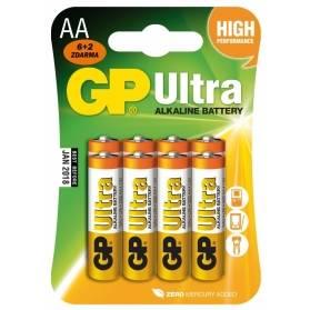 Batéria GP Ultra alkalická AA / 8 ks