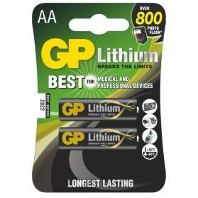 Batéria GP líthiová AA / 2 ks