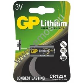 Fotobatéria GP líthiová CR 123A