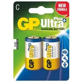 Batéria GP Ultra+ alkalická C / 2 ks