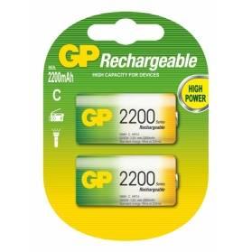 Nabíjacia batéria GP 2200 mAh NiMH C / 2 ks