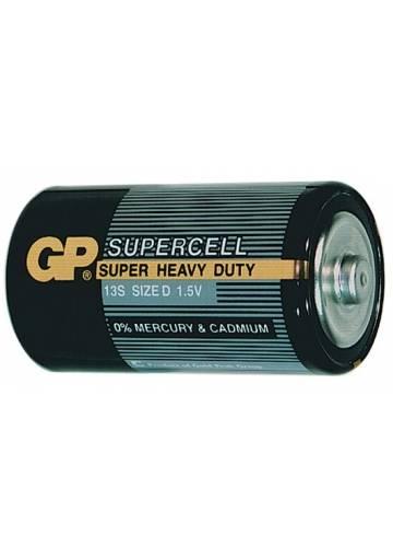 Batéria GP Supercell D / 2 ks