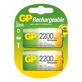 Nabíjacia batéria GP 2200 mAh NiMH D / 2 ks