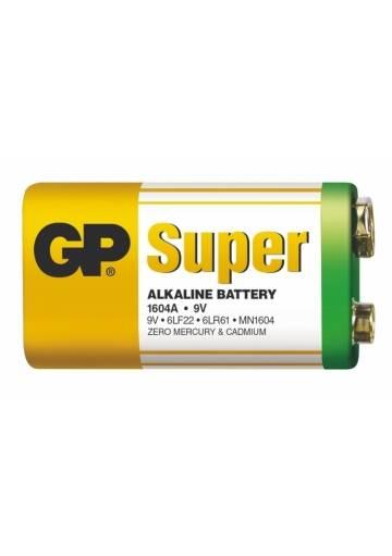 Batéria GP Super alkalická 9 V