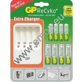 GP nabíjačka batérií PB420 + 8AA + 4AAA ReCyko+