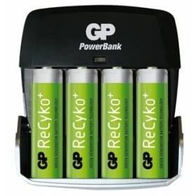 Nabíjačka GP PB + 4 xbatéria GP 2100 mAh AA NiMH