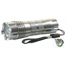 Kovové svietidlo 12 x LED