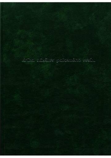 Kniha návštev poľovného revíru - tvrdá väzba