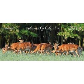 Poľovnícky kalendár 2019 (stolový)