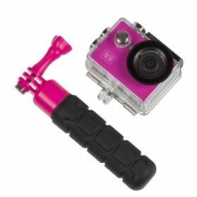 Kitvision Fresh 720p akčná kamera s plávajúcou rukoväťou, ružová