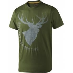 Tričko Seeland - jeleň zelené