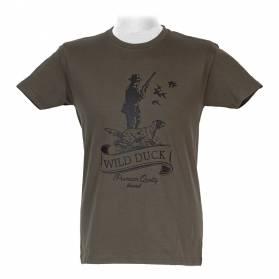 Tričko Akah Hunting - poľovník a pes