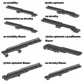 Montáž na zbraň pre Pard NV008+ (výber zbrane v detailoch produktu)