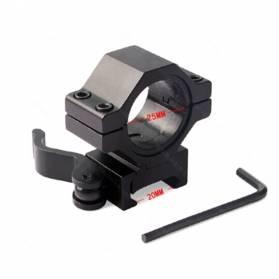Montáž rýchloupínacia pre prísvit, d:25mm - bočná