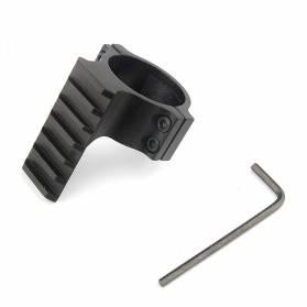 Montáž pre prísvit na puškohľad, d:30mm s weaver lištou