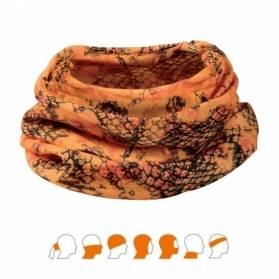 Verney Carron Magic Scarf multifunkčná šatka oranžová