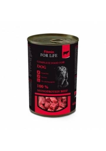 Fitmin For Life Hovädzia konzerva pre psov 400 g