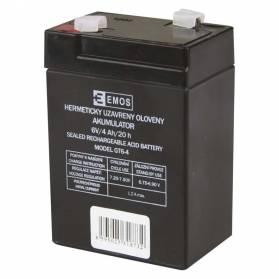 Batéria B9641 olovená-akumulátor 6V 4,2Ah 70x47x102mm