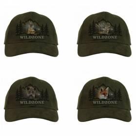 Darčekový set Wildzone šiltovky - 4x Šiltovka