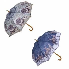 Darčekový set Dáždniky - 2x dáždnik (jazvečík a jelene)
