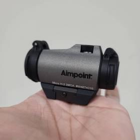 Kolimátor Aimpoint Micro H-2 Tungsten (Limitovaná Edícia)