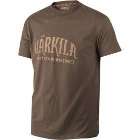 Tričko Härkila slate brown