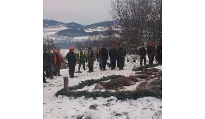 Spoločné poľovačky - výrad a pasovanie za lovca