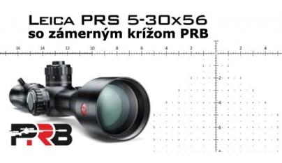 Novinka z výstavy SHOT Show 2020: Leica PRS 5-30×56 so zámerným krížom PRB
